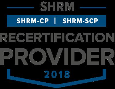 shrm recertification provider logo